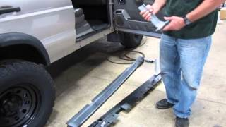 Install Rock Sliders On Your Discovery Series II