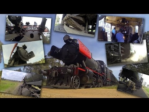 Australian Trains : Steam Trains at Work : GoPro Hero 3