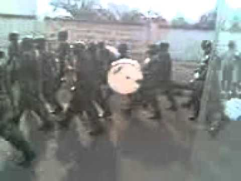 Army march past Enugu for 2011 Nigeria election