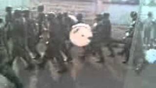 Army march past Enugu for 2011 Nigeria election
