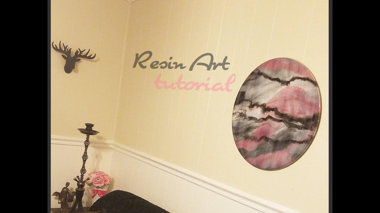 Art Resin Home Decor - YouTube