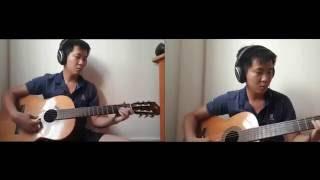 Căn nhà ngoại ô hòa tấu guitar - Guitar hòa tấu 2 trong 1 - Guitar solo