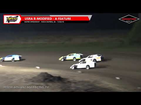 B-Modified Feature - Rapid Speedway - 7/26/19