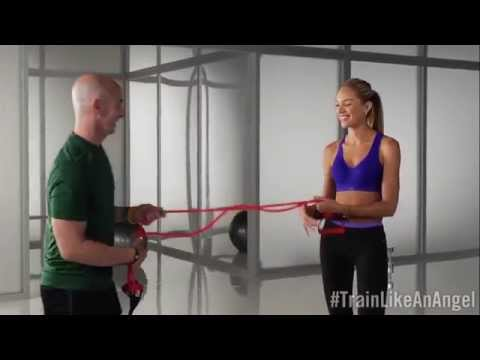 Candice Swanepoel Runway Arms Workout