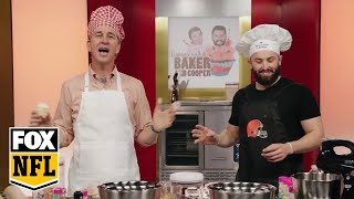 Baking with Baker Mayfield and Cooper Manning | MANNING HOUR