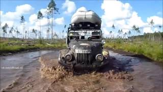 Extreme 4x4  Tropfi  mud off-roading v Opoki