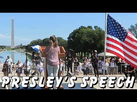 PRESLEY'S SPEECH AT THE MARCH FOR CIVILITY! | ActOutGames