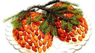 САЛАТ СОСНОВЫЕ ШИШКИ Праздничные салаты Рецепты салатов на праздничный стол