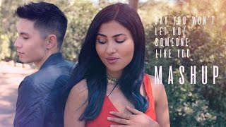 Say You Won't Let Go/Someone Like You MASHUP - Sam Tsui + Vidya Vox | Sam Tsui