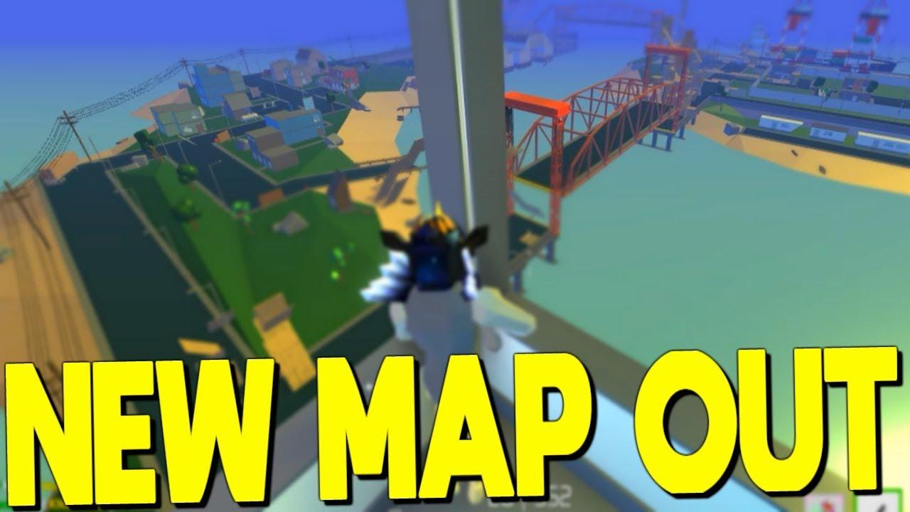 NEW MAP Officially Released In Strucid... *DRAWBRIDGE ...