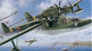 """""""Летающая лодка"""" Гидросамолет, BV 138 """"Самолеты Германии"""", 1941-1945 История авиации, 6-й фильм"""