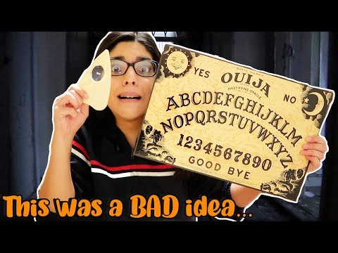 I Played The Ouija Board ALONE...