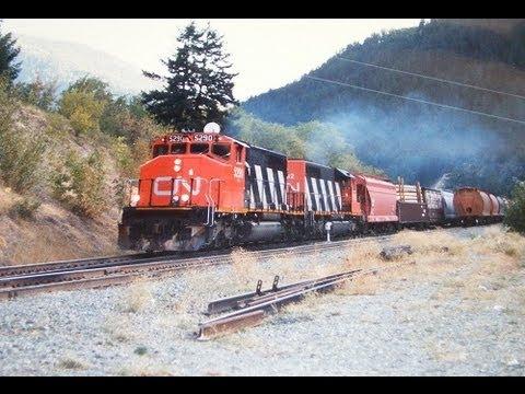 CN ~ Cab Ride ~ Fraser - Thompson Canyon ~ Boston Bar to Spences Bridge ~ # 10