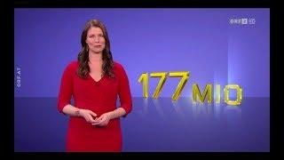 EuroMillionen Ziehung vom Freitag, 23.02.2018 - ORF2 HD mit Catherine Oborny  - EuroMillion