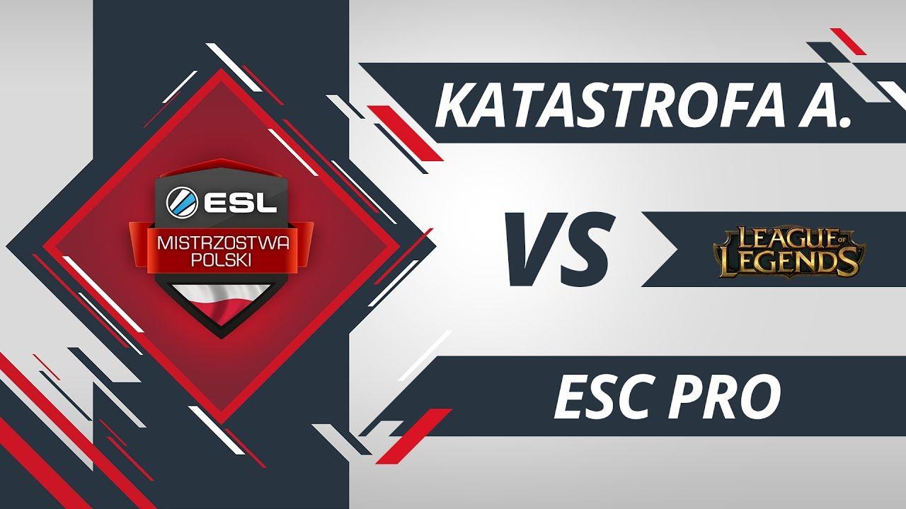 Katastrofa Awionetki vs ESC Pro LoL | EMP LoL Kwalifikacje
