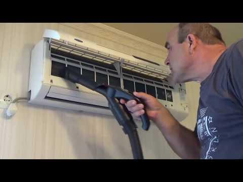 Как почистить воздушный фильтр в сплит системе или кондиционере