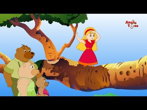 Goldilocks & Three Bears | Hindi Stories & Fairy Tales | Animated Stories by Jingle Toons