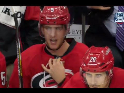 Dustin Brown Penalty Shot Goal - Hanifin is Mad