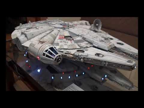 DeAGOSTINI Build Star Wars Millennium Falcon complete !(Auto Demo mode)