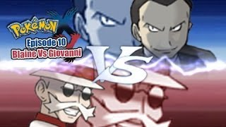 Pokemon X and Y WiFi Battle: Blaine Vs Giovanni [Gym Leader]