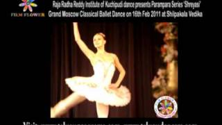 SHREYASI International Dance Festival - Moscow Classical Ballet - Swanlake on 16th Feb 2011 Part1