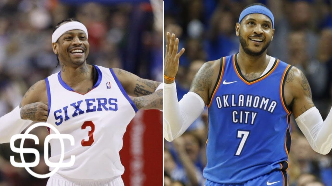 Carmelo Anthony passes Allen Iverson on all-time scoring ...
