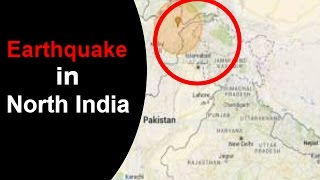 Earthquake of Magnitude 6.8 Hits North India