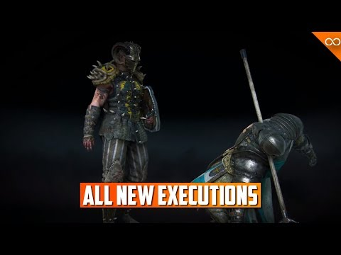 For Honor ALL New Marching Fire Executions - Season 8 Executions |