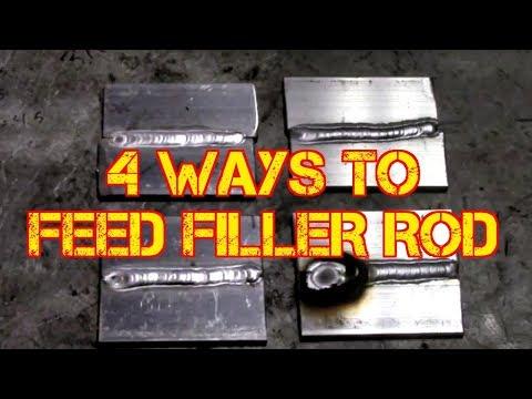 TFS: TIG Simple - 4 Ways to Feed Filler Rod