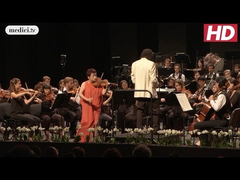 Kyung Wha Chung, Charles Dutoit - Violin Concerto in D Major- Brahms: Verbier Festival 2016