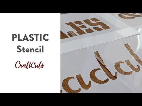 PLASTIC STENCILS - Product Video | Craftcuts.com