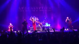 Apocalyptica - For whom the bell tolls (live CDMX Teatro metropolitan 2017 1080p60)