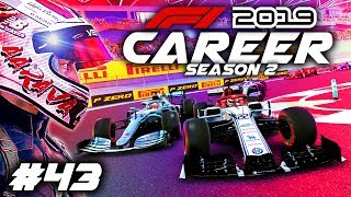 F1 2019 CAREER MODE Part 43: CHAMPIONSHIP DECIDER SEASON FINALE!