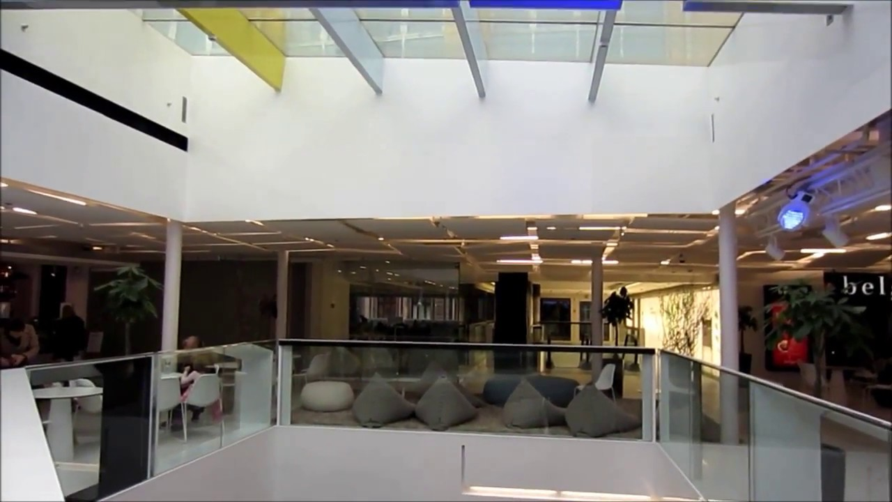 Modern Architecture Kluuvi Shopping Center Interior Design