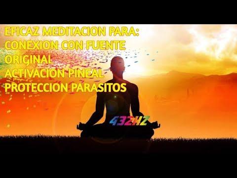 EFICAZ MEDITACIÓN GUIADA 432 HZ.  CONEXIÓN FUENTE ORIGINAL Y ACTIVACION GLANDULA PINEAL