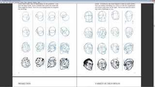 How to Draw: A basic drawing procedure from Loomis - Construction from basic forms
