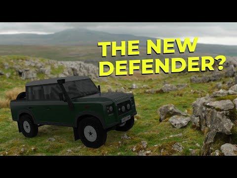 Land Rover Fan Designs New Defender
