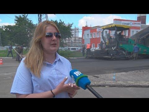 ТВЭл - Нина Пастушенко о ремонте дорог в Электрогорске (28.06.17)