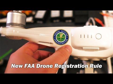 New FAA Drone Registration Rule: Mark it on the outside...