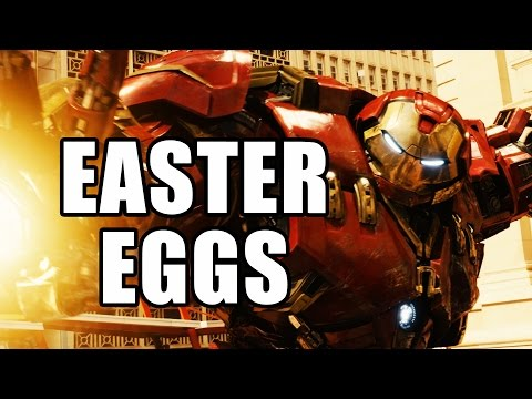 Top 50 Avengers Age of Ultron Easter Eggs & References