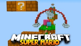 Minecraft SUPER MARIO OBSTACLE COURSE! | (CUSTOM 1.9 MAP!)