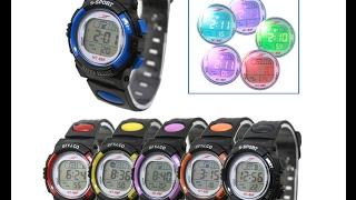 Детские Спортивные цифровые часы - Обзор, распаковка