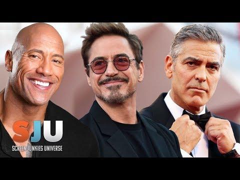 Hollywood's Highest Paid Actors Revealed - SJU