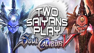 Two Saiyans Play:  Soul Calibur V