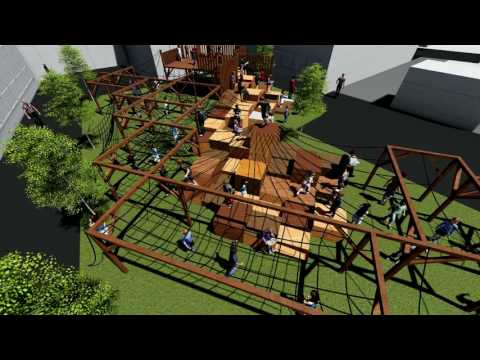 URBAN Jungle Video Of Richmond Hill primary School Playground Concept