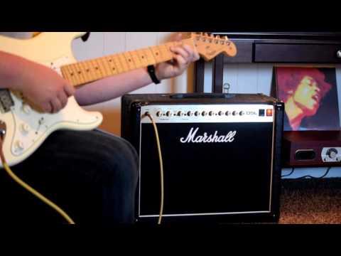 Marshall DSL40c C19 cap mod comparison | FunnyCat TV