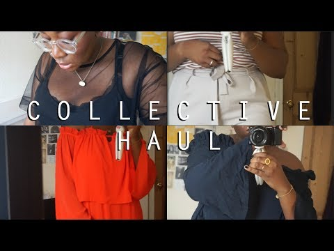 COLLECTIVE TRY-ON HAUL, Topshop, ASOS Curve, Boohoo, Monki, New Look + more • Margaret Belle