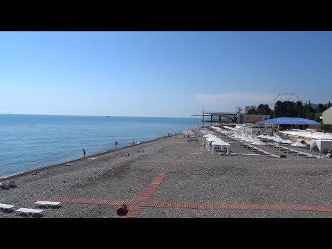 Пляж Багратион в День пограничника. 28 мая 2017, Лазаревское
