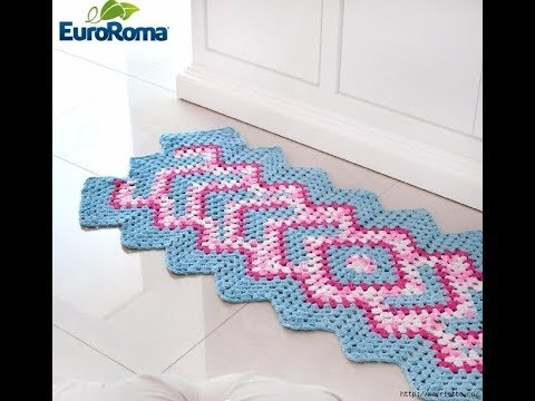 Crochet Patterns| for free |crochet rug patterns| 2250 - YouTube