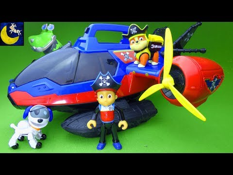 Paw Patrol Pirate Air Patroller Pup Toys Funny Dinosaurs Bring Rusty Rivets Wrong Toys Video